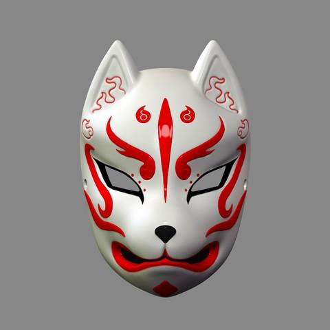 Máscara Kitsune