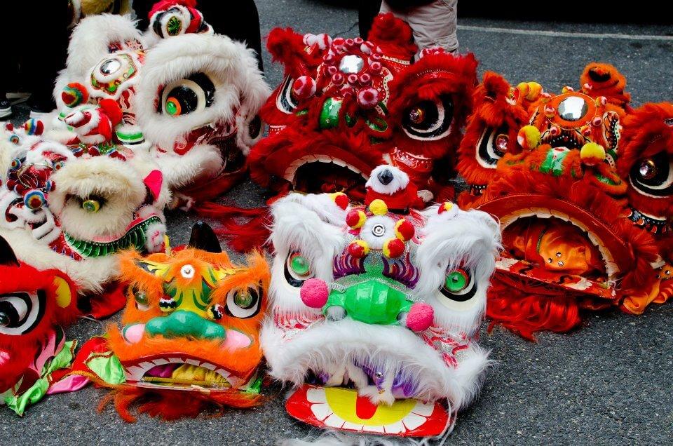 Tipos de máscaras chinas