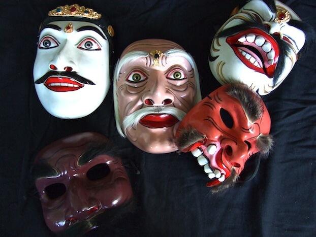 tipos de mascaras danza topeng