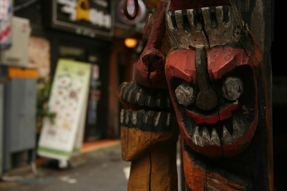 máscaras tradicionales coreanas