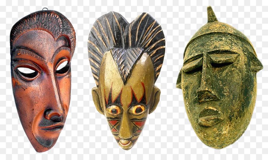 máscaras tradicionales africanas