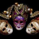 Historia de las máscaras de carnaval venecianas