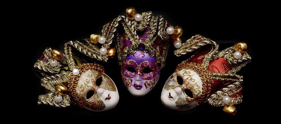 Tipos de Máscaras Venecianas