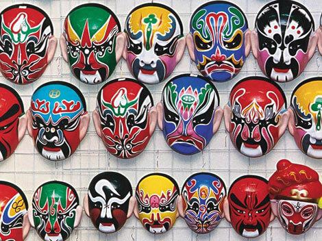 Significado de los colores en las máscaras