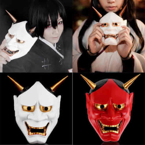 Máscaras de Hannya