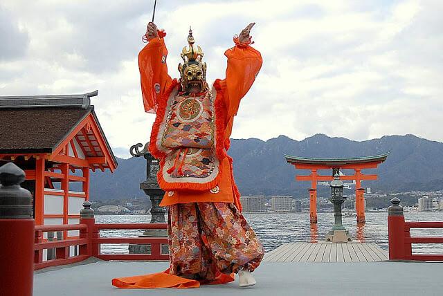 máscaras de Bugaku