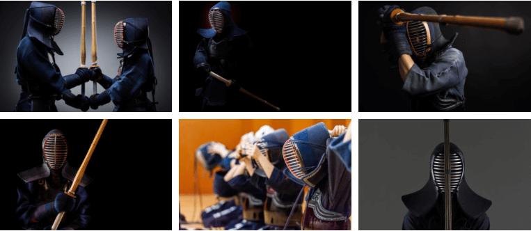 máscara de kendo